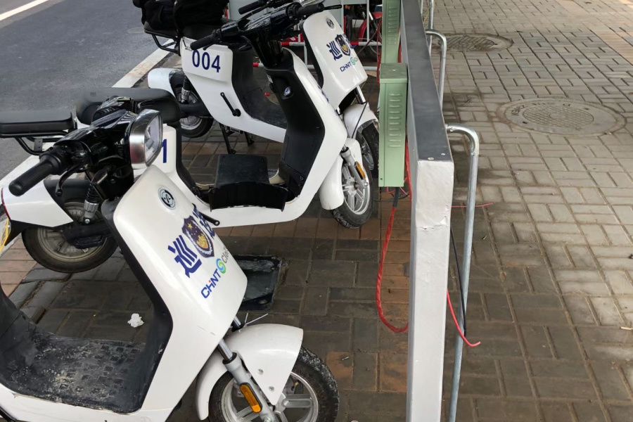 electric-scooter-charging